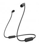 Sony Audífonos Intrauriculares con Micrófono WI-C310, Inalámbrico, Bluetooth, Negro