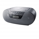Sony Grabadora ZS-S10CP Compact CD Boombox, 2W RMS, AM/FM, Negro