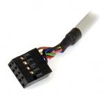 StarTech.com Adaptador Bahía Frontal 3.5'', Lector de Memoria Flash, 22 en 1, USB 2.0