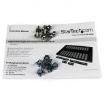 StarTech.com Charola Bandeja para Gabinetes y Racks de Servidores con Profundidad Ajustable