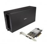 StarTech.com Tarjeta PCI Express BNDTB210GSFP, Alámbrico, 2x Thunderbolt 3, 40Gbit/s