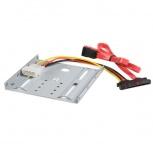 StarTech.com BRACKET25SAT Juego Kit Adaptador de Montaje para Disco Duro SATA de 2.5'' en Bahía de 3.5'\