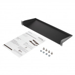 Startech.com Charola Fija Unviersal para Gabinete Rack 1U, 7'', hasta 15kg