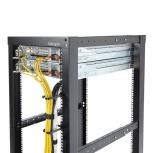 StarTech.com Anilla Pasacables en D Vertical para Rack 1U