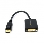 StarTech.com Cable DisplayPort Macho - DVI Hembra, 15cm, Negro