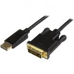 StarTech.com Cable DisplayPort Macho - DVI Macho, 91cm, Negro