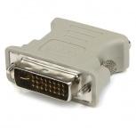 StarTech.com Adaptador Conversor DVI-I a VGA, DVI-I Macho - DB15 Hembra, Blanco