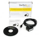 StarTech.com Cable USB a 1 Puerto Serie Serial RS232 DB9 FTDI Aislamiento Óptico, 1.8 Metros