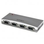 StarTech.com Adaptador Hub USB a RS-232, 4 Puertos, 0.115 Mbit/s
