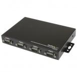 StarTech.com Hub de 4 Puertos Serial DB9 a USB con Retención de COM, 0.23 Mbit/s