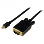 StarTech.com Cable mini DisplayPort Macho - VGA (D-Sub) Macho, 1.8 Metros, Negro