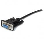 StarTech.com Cable Serial DB-9 Macho - DB-9 Hembra, 1 Metro, Negro
