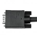 StarTech.com Cable Coaxial de Video VGA para Pantalla de Alta Resolución, 2x VGA (D-Sub) Macho, 3 Metros, Negro