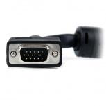 StarTech.com Cable Coaxial de Video VGA para Pantalla de Alta Resolución, 2x VGA (D-Sub) Macho, 6 Metros, Negro