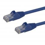 StarTech.com Cable Patch Cat6 UTP sin Enganches RJ-45 Macho - RJ-45 Macho, 1.8 Metros, Azul