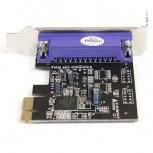 StarTech.com Tarjeta PCI Express Perfil Bajo Paralelo de 1 Puerto DB25 IEEE1284