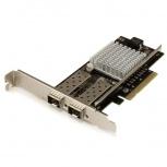 StarTech.com Tarjeta PCI Express de Red de Fibra de 10Gbit/s con 2 Puertos SFP+ Abiertos