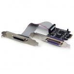StarTech.com Tarjeta PCI Express PEX2PECP2, Alámbrico, 1.5Mbit/s, 2 Puertos Paralelos