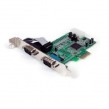 StarTech.com Tarjeta PCI Express PEX2S553 , Alámbrico, con 2 Puertos RS232