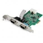 StarTech.com Tarjeta PCI Express PEX2S953, Alámbrico, 2x RS232, 921.6Kbit/s