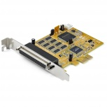 StarTech.com Tarjeta PCI Express PEX8S1050, Alámbrico, 8x RS-232, 921.6Kbit/s