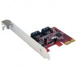 StarTech.com Tarjeta PCI Express, PEXSAT32, Alámbrico, 2x SATA