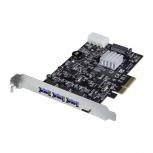 StarTech.com Tarjeta PCI Express PEXUS313AC2V, Alámbrico, 3x USB-A,1x USB-C 10Gbit/s