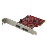 StarTech.com Tarjeta PCI Express USB 3.1 10 Gbps, eSATA