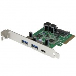 StarTech.com Tarjeta PCI Express, USB 3.0 - 3.1, 10 Gbit/s