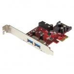 StarTech.com Tarjeta PCI Express PEXUSB3S2EI, 2x USB 3.0, 5Gbit/s