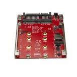 "StarTech.com Adaptador para Unidad de Disco M.2 (SATA/B-Key/NGFF) - SATA para Bahía de 2.5"""