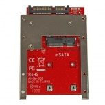 StarTech.com Adaptador Convertidor de SSD mSATA - SATA de 2.5''
