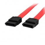 StarTech.com Cable SATA Hembra - Hembra, 45cm, Rojo