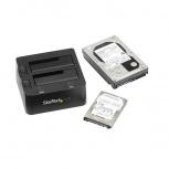Startech.com Docking Station USB 3.0 para 2 Discos Duros, 2.5''/3.5'', SATA