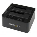 Startech.com Dock USB 3.0 y eSATA Copiadora para 2 Discos Duros, 2.5''/3.5''