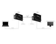 StarTech.com Kit Extensor HDMI por Cable Ethernet UTP Cat5/6 - 70m