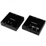 StarTech.com Extensor HDMI por Cable Cat6 con Hub USB de 4 Puertos, 50m, Negro