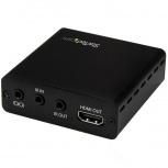 StarTech.com Juego Extensor HDBaseT, 3 Puertos HDMI, 4K