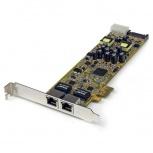 StarTech.com Tarjeta PCI Express ST2000PEXPSE, Alámbrico, 2000 Mbit/s, 2x RJ-45