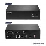 StarTech.com Extensor de Video AV Alámbrico Cat5e/Cat6, 4x HDMI, 2x RJ-45, 90 Metros