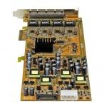 StarTech.com Tarjeta de Red de 4 Puertos RJ-45, 2000 Mbit/s, PCI Express