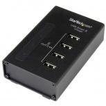 StarTech.com Estación de Carga USB de 4 Puertos, 48W, 9.6A, Negro