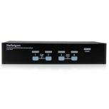 StarTech.com Switch KVM SV431USBAE, Alámbrico, VGA, 4 Puertos