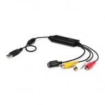 StarTech.com Adaptador de Captura de Video USB Macho - Composite/S-Video/2x RCA Hembra, Negro