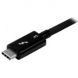 StarTech.com Adaptador Thunderbolt 3 Macho - DisplayPort Hembra, Plata