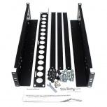 StarTech.com Kit de Montaje para Rack 2U, hasta 45.3kg, Negro