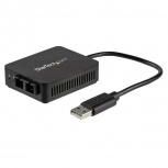 StarTech.com Adaptador de Red USB 2.0 a Fibra Óptica SC US100A20FXSC, Alámbrico, 1000Mbit/s
