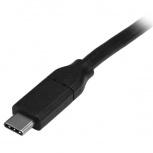 StarTech.com Cable USB C Macho - USB C Macho, 4 Metros, Negro