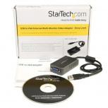 StarTech.com USB2VGAE2 Adaptador de Video Externo USB a VGA, Tarjeta de Video Externa Cable, 1440 x 900 Pixeles