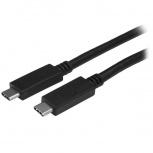 StarTech.com Cable USB C Macho - USB C Macho, 1 Metro, Negro